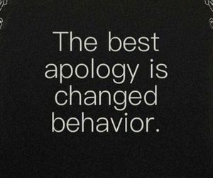 apology, behaviour, and sorry image