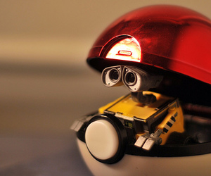 wall-e, cute, and pokemon image