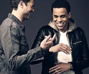 karl urban and michael ealy image