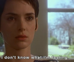 girl interrupted, quote, and feeling image