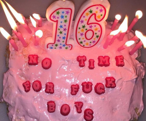 16, birthday cake, and boys image