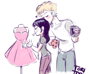 Adrien and marinette image