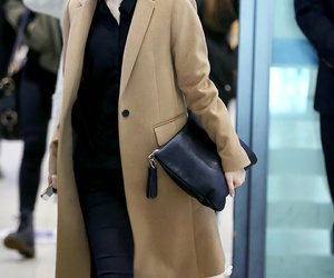 airport, fashion, and jacket image