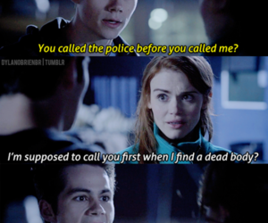 teen wolf, dylan o'brien, and lydia image