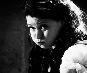 belle, black and white, and once upon a time image