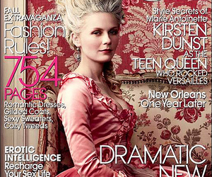 marie antoinette, Kirsten Dunst, and baroque hairstyle image
