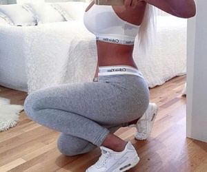 Calvin Klein, fitness, and white image