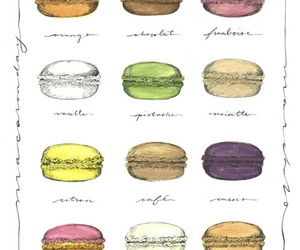 art, desserts, and french image