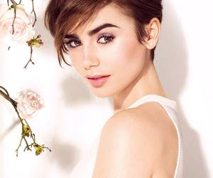 lily collins, model, and actress image