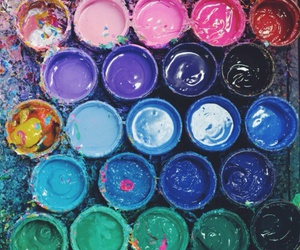 paint, colors, and art image