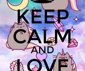 cat, clam, and pusheen image