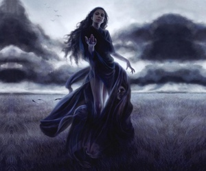 storm and women image