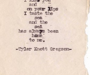quote, love, and kiss image