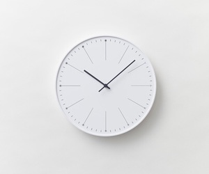 white, clock, and tumblr image