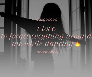 dance, easel, and forget everything image