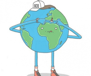 funny, volcano, and earth image