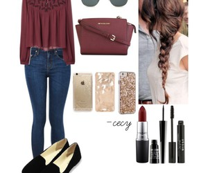 outfit, Polyvore, and beauty image