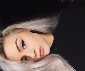 girl, beauty, and goals image
