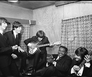 1964, 60's, and backstage image