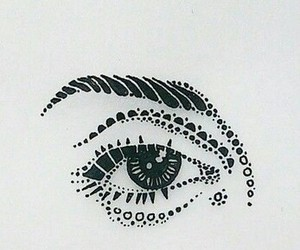 draw, eye, and point image