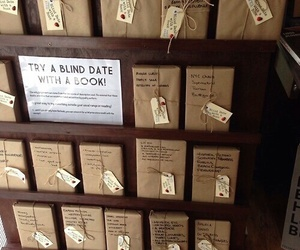 book, reading, and blind date image
