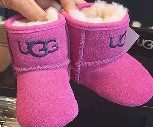 pink, ugg, and baby image