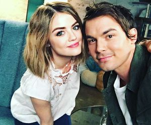 lucy hale and tyler blackburn image