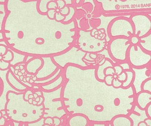 hello kitty, vintage, and wallpaper image