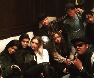 kylie jenner, hayes grier, and king kylie image