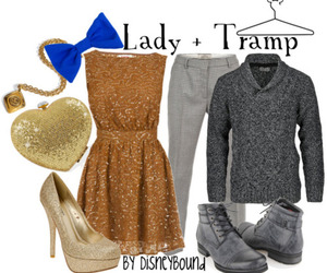 lady and the tramp, outfit, and clothes image