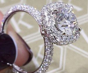 ring, diamond, and luxury image