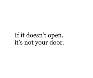 quotes, words, and door image
