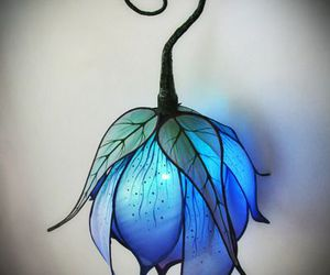 lamp, blue, and fairy image
