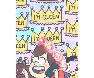 mabel, gravity falls, and Queen image
