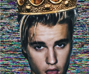 bitches, justin, and king image