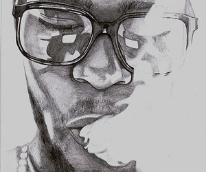cudi, drawing, and illustration image