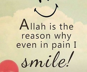allah, happines, and islam image