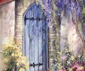 art, soft, and door image