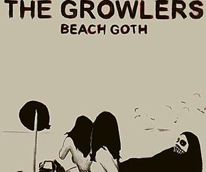 black, death, and beach goth image