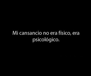 frases and cansancio image