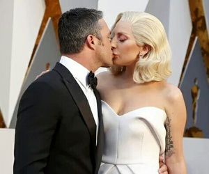 Lady gaga, oscar, and taylor kinney image