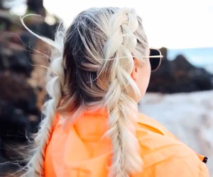 braids, hair, and youtube image