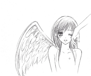 angel and anime image