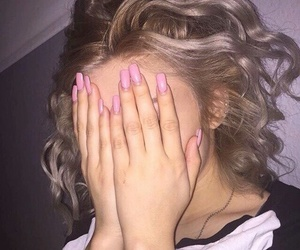 icon, nails, and pale image