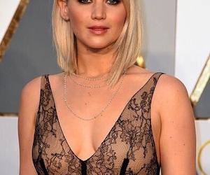 Jennifer Lawrence, oscar, and red carpet image