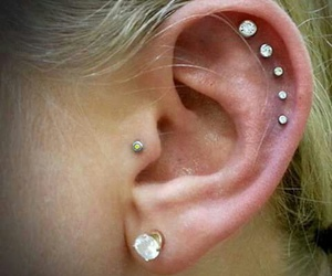 luxury, piercing, and pretty image