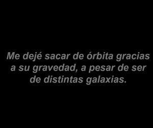 frases, love, and galaxy image