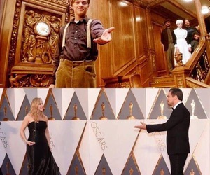 awards, titanic, and oscars image