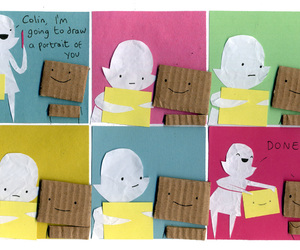 hand made, paper art, and cute image