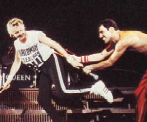 concert, Freddie Mercury, and friendship image